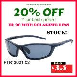 Солнечные очки напольных спортов UV400 фабрики оптовые ударопрочные