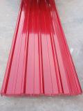 Плитки крыши металла/цвет покрынная гальванизированная стальная плитка