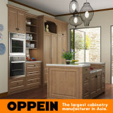 De grote Kast van de Keuken van de Aard van de Keuken pp Houten (OP15-PP07)