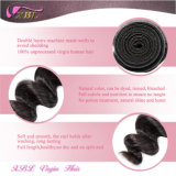 柔らかさおよびThicker Malaysian Cheap Weave Hair Online 100%年のHuman Hair