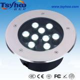 Indicatore luminoso in sotterraneo di alto potere IP67 RGB LED