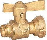 Soupape en laiton de fil de multimètre de l'eau (A. 8009)