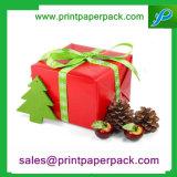 Коробка безукоризненного картона узла бабочки бархата сувенира подарка бумажная