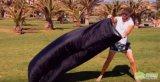 3-4季節のナイロン寝袋のLamzacのたまり場、スリープの状態であるエアーバッグの軽量の寝袋