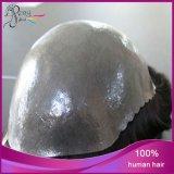 Les hommes de Toupee amincissent le Toupee de la taille 8*10inch de base de cheveux humains de la peau 100%