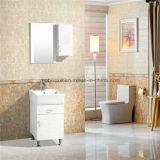 Wand Hunge Brown klassische preiswerte PVC-Badezimmer-Möbel
