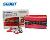 Inversor da C.C. 12V do indicador 500W do LCD do preço de fábrica de Suoer (SDB-500A)