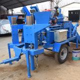Le jumeau de M7mi moule la machine automatique de brique d'argile de couplage