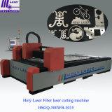 Machine de découpage sainte de laser de fibre de laser pour l'acier du carbone