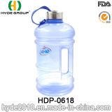 2.2L/1.89L brocca di acqua popolare di ginnastica della plastica PETG, bottiglia di acqua di plastica di capacità elevata (HDP-0618)