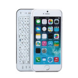 Wireless Bluetooth deslizando la caja del teclado para el iPhone 6