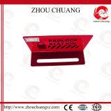Station matérielle en acier de blocage de cadenas durable de la couleur rouge 15-Lock