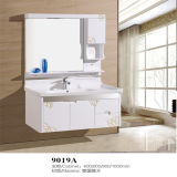 Wall Mounted all'ingrosso Wood Material Bathroom Vanity con Side Cabinet