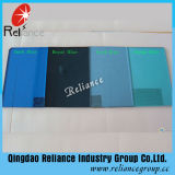 ISO 9001를 가진 5mm 진한 파란색 사려깊은 유리