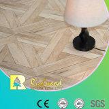 étage en stratifié imperméable à l'eau de teck de texture de fibre de bois de 8.3mm E1 HDF AC3 HDF