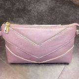 La promotion de cuir véritable de prix usine de Madame Clutch Purse Handbags met en sac Emg4580
