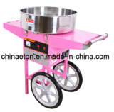 ETL Certificate Electric Candy Floss Machine с Cover и Cart