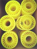 Roda do esmagamento do plutônio para máquina ondulada
