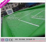 Gebied van de Voetbal van het Voetbal van pvc het materiële Loodvrije Groene Opblaasbare