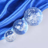 Burbuja de la bola de cristal de vidrio para la decoración del hogar