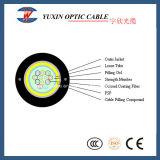 12 câble fibre optique extérieur de l'antenne GYXTW de noyau d'usine de la Chine