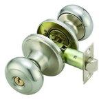 Cerraduras tubulares excelentes de la perilla del acero inoxidable de la calidad para todas las puertas