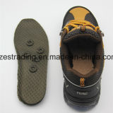 Zapatos de seguridad chinos con el casquillo de acero de la punta