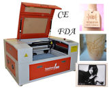 Laser de la máquina del laser del CO2 que talla la máquina para el caucho de acrílico de madera etc