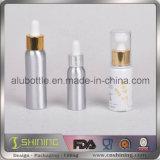 Bottiglia di olio di alluminio del fumo della bottiglia del contagoccia