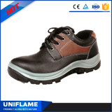 Venda Por Atacado Low Ankle Lace Up Red Safety Shoes Ufa083