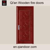 Porte coupe-feu en bois Thermique-Isolée par placage de chêne