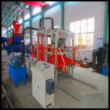 Lastricatore concreto che fa la macchina per fabbricare i mattoni della strumentazione