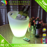 DEL Lighted Plastic Ice Bucket pour Serving Drinks Bcr-924b