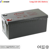 Gel solar Battery 12V200ah com Solar Mc4 Terminal