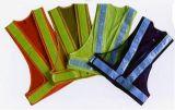 Gilet de sûreté de DEL avec le tissu de maille pour des sports