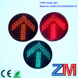 200mm LED Black Full Screen Traffic Light