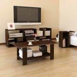Moderne Wohnzimmer-Möbel hölzerner LCD-Fernsehapparat-Standplatz mit großer Speicherung (WS16-0030)