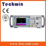 Обширный спектральный анализатор ряда ширины полосы частот частоты равный к спектральному анализатору Tektronix