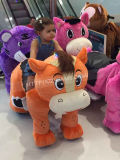ショッピングモールのための馬の元気な動物の乗車の動物の乗車