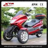 Autoped 150cc Trike de van uitstekende kwaliteit van de Tribune van de Mobiliteit Met gas omhoog