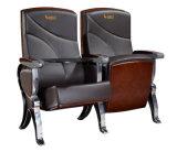 Assento especial do assento de Salão do frame da liga de alumínio, cadeira de couro do auditório do plutônio da tela