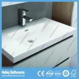 現代白く、木製の浴室用キャビネットの引出しは自動的に現れるおよび白(BF138M)