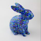 カスタム陶磁器のかわいいステッカーの動物の画像の豚のような銭箱
