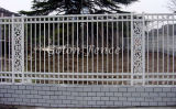 Qualitäts-Garten-bearbeitetes Eisen-Zaun