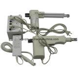 C.C. 12V de la base del masaje o 24V movimiento eléctrico 3000n del actuador 300m m