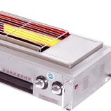 Gas Fumeless Röster (mit elektrischem Ventilator) Et-Kf03