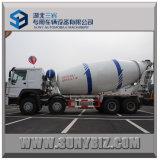 Sinotruk HOWO 8X4 371HP 12m3 LHD Rhd Mixer Truck