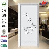 Porte de PVC de modèle de premier projet de vente Nice