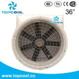 """Fibre de verre renfermants """" ventilateur d'extraction résistante à la corrosion 36 pour la ventilation de bétail"""