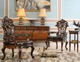 Комплекты мебели спальни античной американской кровати типа новые классические домашние